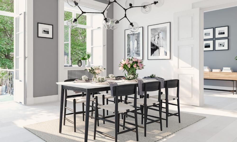 4 טיפים לשילוב והתאמה של כסאות חדר אוכל